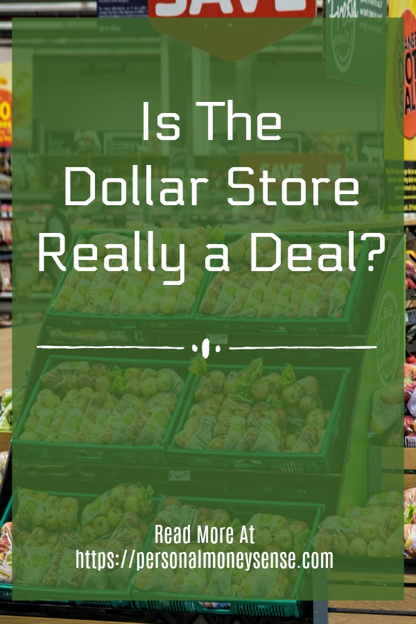 Is the Dollar Store really a deal?