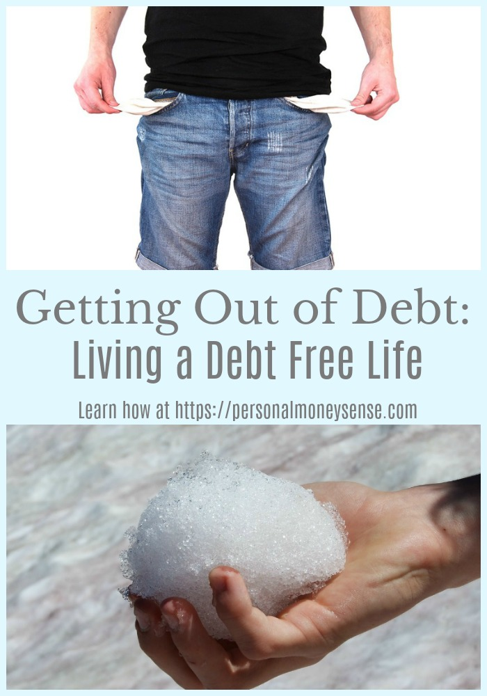 Getting out of debt and living a debt free life guide...