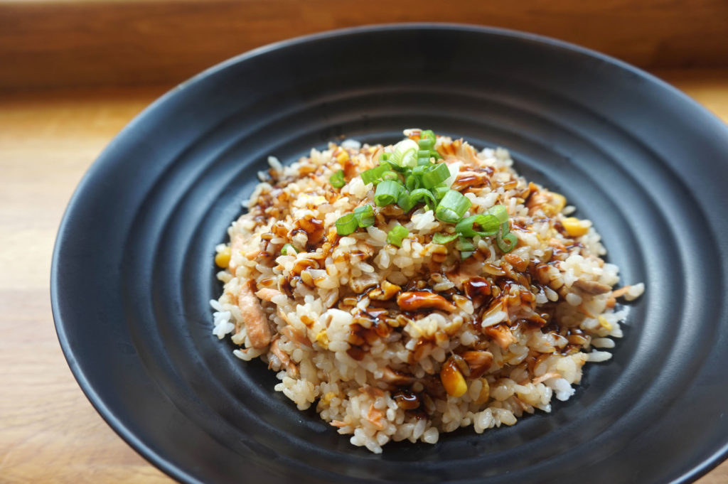 Frugal living can mean eating more rice and beans to save money on your grocery bill...