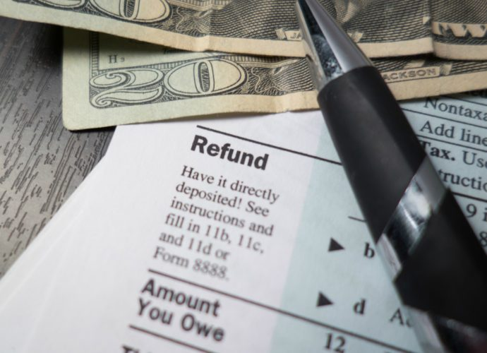 A large tax refund is something you don't want...