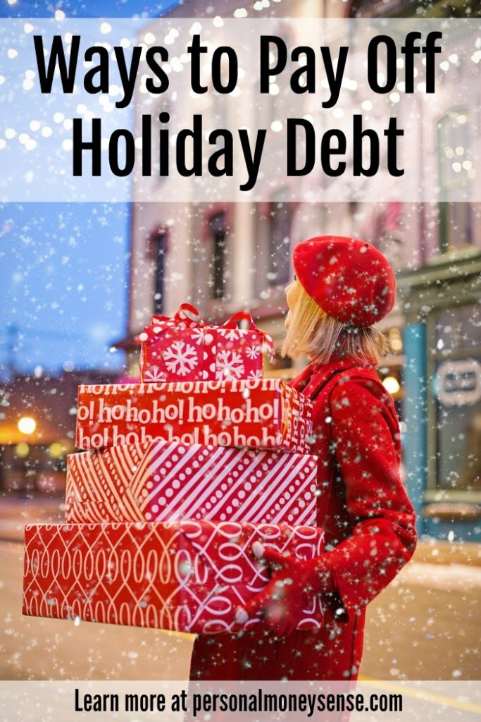 pay off holiday debt